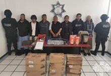 GPS, vehículo de carga, reporte de robo, mercancía, Coronango, detenidos, siete, caja seca, automóvil, Código Rojo, Nota Roja, Puebla, noticias