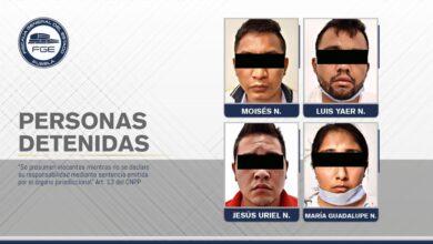 sujetos, detenidos, secuestro, Tehuacán, Estado de Mexico, casa de seguridad, cuñado, fútbol, Código Rojo, Nota Roja