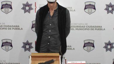 Policía Municipal, Huexotitla, arma de fuego, Ministerio Público, DERI, Bulevar Capitán Carlos Camacho Espíritu, Ministerio Público,