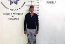 asaltante, Oxxo, detenido, San Pedro Cholula, SSC, FGE, Código Rojo, Nota Roja, Puebla, noticias