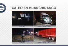 Huauchinango, cateo, inmueble, asegurado, tractocamión, robo, Código Rojo, Nota Roja