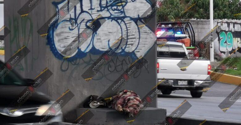 calle, hombre, indigente, autopista México-Puebla, San Jerónimo Caleras, Código Rojo