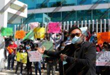 motel, Amozoc, manifestación, justicia, bulevar 5 de Mayo, 31 Oriente, asesinado, pareja, Gonzalo, Código Rojo, Nota Roja, Puebla, Noticias