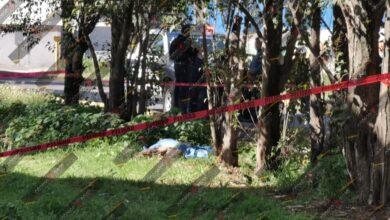 colonia Cleotilde Torres, muerto, indigente, golpeado, Protección Civil Municipal, Semefo, traslado, Código Rojo