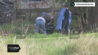 terreno, trabajadores, San Isidro Castillotla, muerto maniatado, embolsado, cadáver, Código Rojo