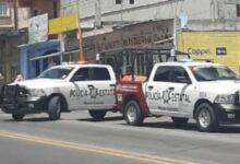San Salvador El Seco, Coppel, robo, celulares, Policía Municipal, motocicleta, huida, Código Rojo