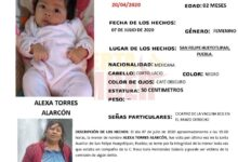 Alexa Torres, Alerta Amber, San Felipe Hueyotlipan, Código Rojo