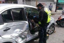 lesionada, atrapada, combi, transporte público, bulevar Norte, 36 Poniente, Código Rojo