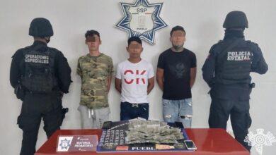 """Narcomenudeo, robo a transeúnte, """"Los chulos de El Alto"""", """"El Churro""""., Policía Estatal"""