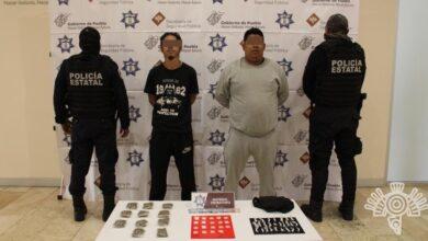 """Policía Estatal, """"El Croquis"""", robo a negocio, armas de fuego, Secretaría de Seguridad Pública, narcovendedor, mercado Hidalgo"""