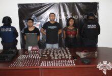 riña, San Baltazar Campeche, drogas, detenidos, cocaína, marihuana, pipas de cristal, arma de fuego, cartuchos útiles, Código Rojo