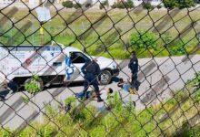 San Lorenzo Almecatla, persecución, robo, camioneta, empresa, gas, Cuautlancingo, Código Rojo, Nota Roja, Puebla, Noticias