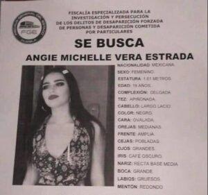 Angie Michelle Vera Estrada, San Andrés Cholula, San Martín Texmelucan, reportada, desaparecida, muerta, hallazgo, amiga, amistades, FGE, Código Rojo, Nota Roja