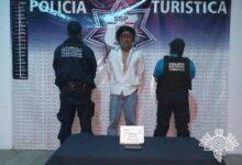 detenido, robo, transeúnte, Paseo Bravo, detenido, SSP, Código Rojo