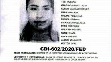Guillermina Rubín Ramírez, reporte, desaparición, hallazgo, muerta, Código Rojo