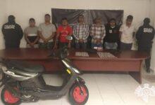 motocicleta, reporte de robo, droga, detenidos, SSP, SSC, marihuana, cocaína, San Martín Texmelucan, golpes, objetos punzocortantes, Código Rojo, Nota Roja