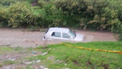 barranco, onacatepec, vehículo, atorado, rescate, REscate Urbano, Protección Civil, SSC, Código Rojo