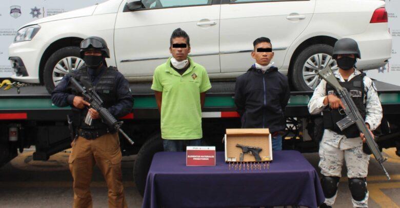SSC, detenidos, Guardia Nacional, arma de fuego, drogas, Código Rojo