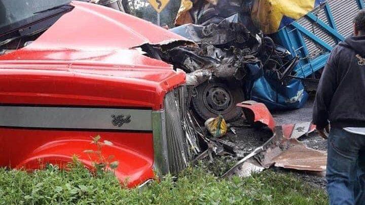 El Ocotal, Mazapiltepec, General Felipe Ángeles, muerto, lesionado, choque, Código Rojo