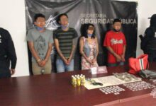 El Moi, detenidos, narcovendedores, Jazmín, SSP, Código Rojo