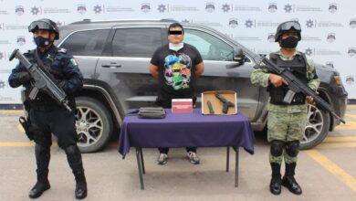 portación de arma de fuego, sin licencia, La Libertad, Manuel, cartuchos útiles, Guardia Nacional, SSC, Código Rojo