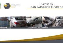 FGE, vehículos robados, inmueble, San Salvador El Verde, Código Rojo, Nota Roja