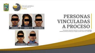 La Unión de Tepito, vinculación a proceso, prisión preventiva, Código Rojo, Nota Roja, Puebla, Noticias