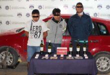 SSC, Oxxo, robo, cajetillas con cigarros, botellas de licor, dinero en efectivo y un equipo telefónico, FGE