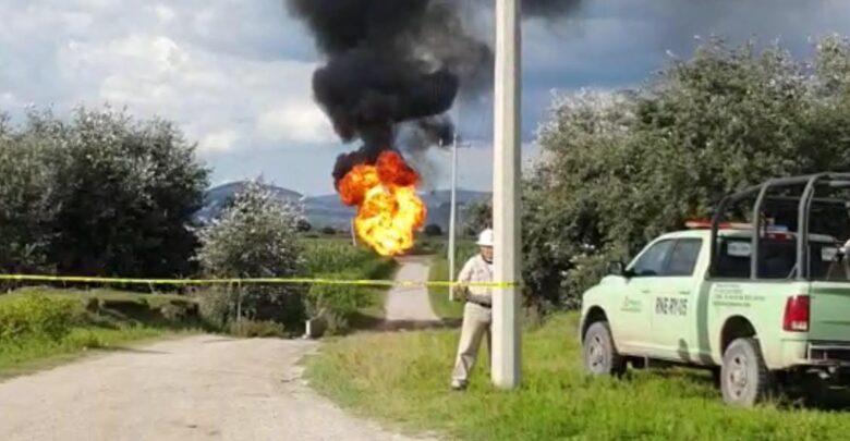 quema controlada, Pemex,habitantes, Protección Civil Municipal, Código Rojo, Nota Roja