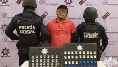 Tehuacán, El Cubano, banda delictiva, integrante, detenido, robo, transporte de carga, motocicletas, Tehuacán, Código Rojo