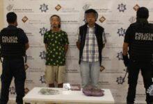 narcovendedores, venta, El Gallo, miembros, detenidos, SSP, Código Rojo, Nota Roja, Puebla, Noticias