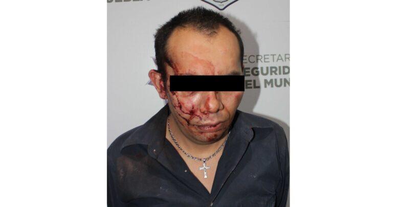 Bosques de San Sebastián, detenido, homicidio, SSC, arma de fuego, golpeado, Código Rojo, Nota Roja