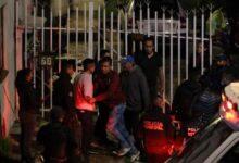 arma de fuego, asesinado, cuello, bala, lugar de estacionamiento, ebrios, Código Rojo, Bosques de San Sebastián, Nota Roja, Puebla, Noticias