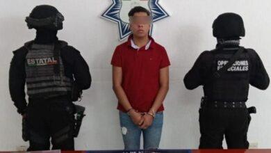 La Bruja, detenido, zona de antros, Cholula, detenido, Policía Estatal, Los Sinaloa, Código Rojo, Nota Roja