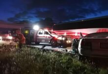 accidente vial, choque, Tsuru, prensado, rescate, Cruz Roja, traslado, autopista Amozoc-Perote, automovilista, Código Rojo, Nota Roja, Puebla, Noticias