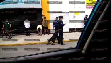 Golpean, amarran, ladrón, San José Mayorazgo, rostro, cabeza, heridas, rostro y cabeza, Protección Civil Municipal, paramédicos