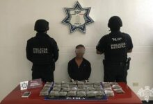 el pelón, marihuana, detenido, ssp, el comanche, código rojo