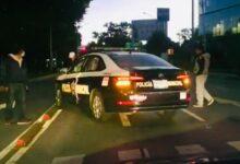 choque, patrulla, reporte, atención, luz roja, semáforo, código rojo