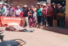 calles céntricas, ejecutado, Chignahuapan, asesinato, Pueblo Mágico, arma de fuego, Policía Municipal, FGE, paramédicos, Cruz Roja