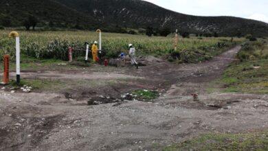 gas LP, fuga, terrenos de cultivo, municipio de Esperanza, Protección Civil Estatal, Pemex, Bomberos
