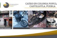 motocicletas, aseguradas, reporte de robo, fge, medios de identificación, alterados, código rojo