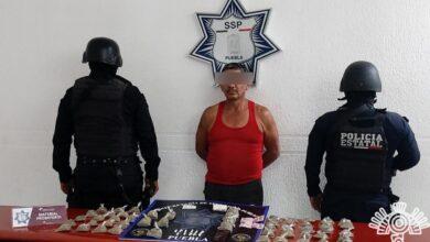 colonia guadalupe caleras, detenido, el chimuelo, el cabezón, el michoacano, operación, drogas, código rojo