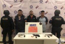 tlacotepec de benito juárez, detenidos, robo, transportistas, armas de fuego, narcomenudeo, código rojo