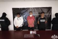 la patrona, detenidos, operadores, venta, armas de fuego, xonacatepec, ssp, código rojo