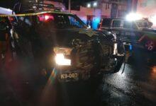 choque, patrulla, policía auxiliar, ssc, combi, pasajeros, daños materiales, código rojo