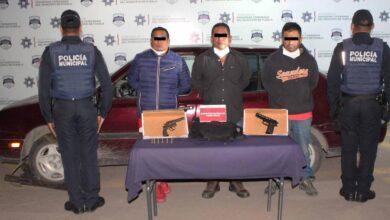 arma de fuego, portación, ilega, detenidos, tres, hombres, código rojo