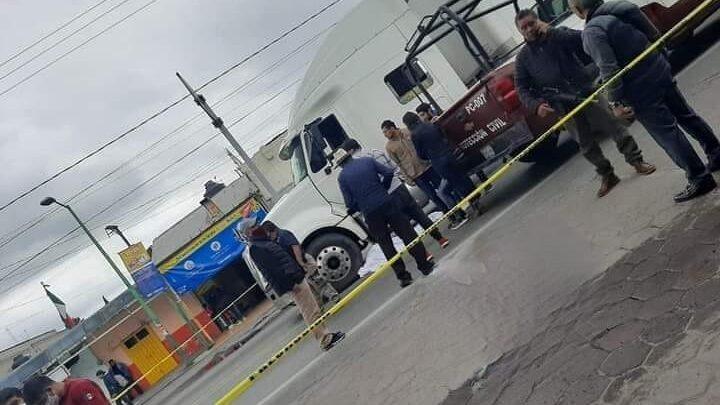 Tráiler, San Salvador El Seco, semáforo en rojo, Ministerio Público, exceso de velocidad