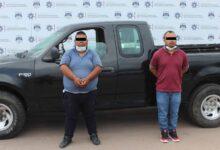 colonia las fuentes, ladrones, detenidos, camioneta, robada, puebla, noticias, código rojo