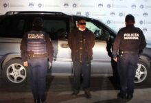 recuperación, camioneta, robada, 11 sur, ssc, detenido, ministerio público, código rojo