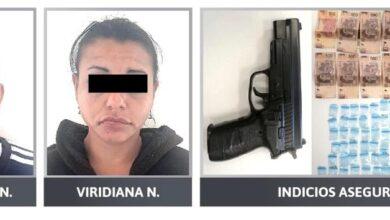 posesión, drogas, arma de fuego, sur, ciudad código rojo, puebla, fge, detenidos
